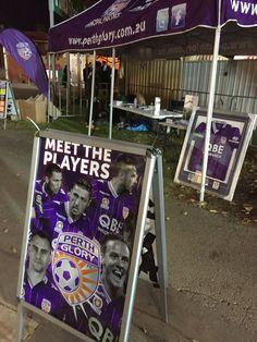 Socceroos Perth Glory fan zone at NIB Stadium