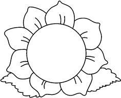 best flower clip art 21959 clipartion com clip art gmk rh pinterest com flowers clipart black and white border flowers clipart black and white free