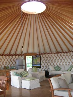 Yurt plans: I'm so intrigued by these things!