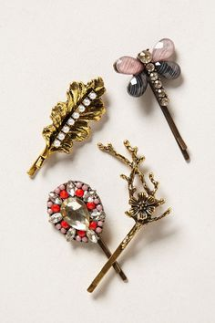 Bobby pin set. the would look great in my own collection!