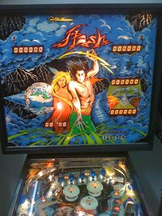 first game to use flash lamps, setting yet another industry standard. Not to mention fast, challenging, and fun gameplay. Pinball Wizard, House Games, Penny Arcade, 80s Kids, Old Coins, First Game, Jouer, Cyprus, Nostalgia