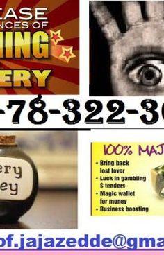 Lottery $Money$ Spells || +27783223616 || Win Gambling and Charm Luck Spells Worldwide