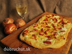 Druh receptu: Slané chuťovky - Page 24 of 40 - Mňamky-Recepty. Flatbread Pizza, French Kitchen, Hawaiian Pizza, Ratatouille, Vegetable Pizza, Food To Make, Appetizers, Healthy Recipes, Cheese
