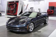 2014 Corvette Stingray Convertible at the New York Auto Show