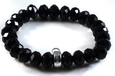 Thomas Sabo Black Crystal Bracelet