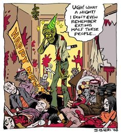 Happy New Year zombie style