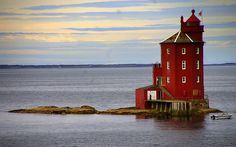 Norway, a lighthouse, with more than one keeper, makes sense.