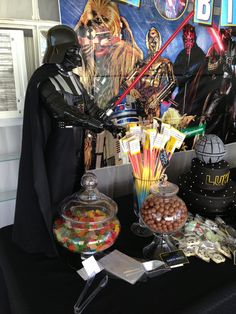 Star Wars candy table