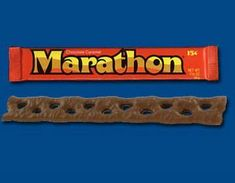 Marathon candy bar, from 1970s  YES! I have told people about this and they don't remember!  YUM!!!