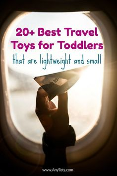 20 Best Travel Toys for Toddlers that are Lightweight and Small. Travel Toys For Toddlers, Toddler Travel, Travel With Kids, Family Travel, Airplane Toys, Airplanes, Airplane Travel, Travel Tray, Cruise Tips