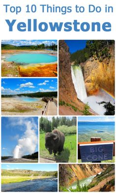 Top 10 Things To Do in Yellowstone National Park