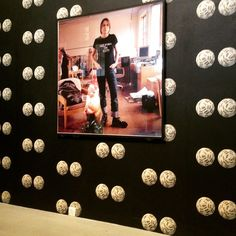 #wallpaperwednesday newly opened #whitworthgallery #manchester #sarahlucas #wallpaper