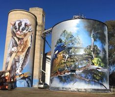 The silo art trail is fast growing in popularity as the Australia's number one must do road trip. Start your Great Australian Adventure today.