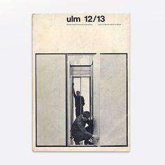 Thomás Gonda, revista HfG «Ulm»
