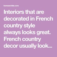 Interiors that are decorated in French country style always looks great. French country decor usually looks quite simple yet very elegant. Living room is certainly an important place. This collection will make the choice of a set of French country… Continue Reading → French Country Living Room, French Country Style, French Country Decorating, Continue Reading, Living Room Decor, Looks Great, Interior Decorating, Interiors, Elegant
