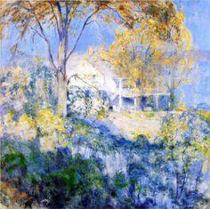 October - John Henry Twachtman, 1901
