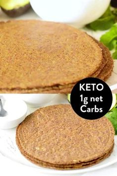 Vegan Keto Recipes, Vegan Foods, Low Carb Recipes, Whole Food Recipes, Dessert Recipes, Cooking Recipes, Plats Healthy, Comida Keto, Keto Tortillas