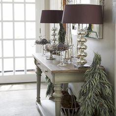 Calm console table light
