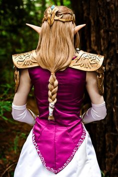 How To Make Princess Zelda S Pauldrons This Is An Insanely Helpful
