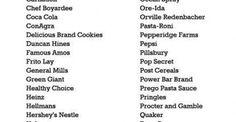 #Υγεία #Διατροφή Η λίστα με τις εταιρείες, που χρησιμοποιούν προϊόντα της Monsanto ΔΕΙΤΕ ΕΔΩ: http://biologikaorganikaproionta.com/health/223054/