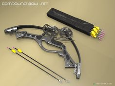 Collapsible compound Bow Is this even possible?  Picture date appears to show 2006.