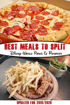 Splitting meals at Disney World is a great way to save money. This is a list of the best meals two people can split or share at all four Disney World Parks. Disney World Vacation Planning, Walt Disney World Vacations, Disney Planning, Disney Travel, Vacation Ideas, Orlando Vacation, Florida Vacation, Trip Planning, Disney World Food