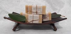 Goat's Milk Calendula & Honey Unscented Shampoo Bar by GreenKimono, $6.50