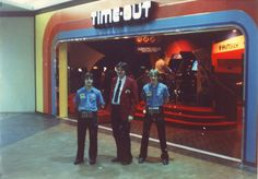 Before Dave & Busters we had Time-Out Arcades!