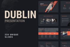 Lion Powerpoint Template by dublin_design on @creativemarket
