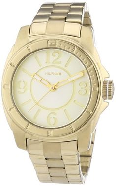 Tommy Hilfiger Kelsey 3-Hand Analog Gold Women's watch