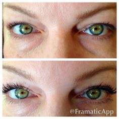 Before 3D Fiber Mascara and After 3D Fiber Mascara by Younique...Because you deserve it!!