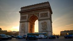 Arc de Triomphe.  I've been here, but I would love to go back