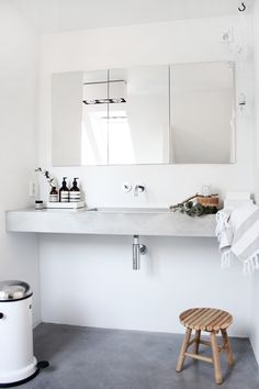 ChicDecó: | Modern minimalist bathroom