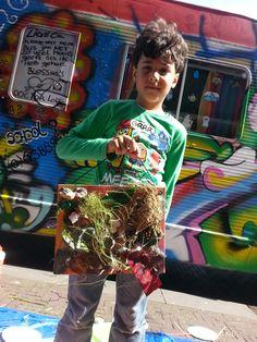 Stadjutten met Tante Repair Kid - Latisha's verjaardagsfeestje 30 juni 2013 - Den Haag