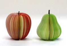 Fruit shaped sticky notes!