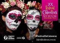 Festival de Calaveras 2014 31 de octubre al 9 de Noviembre Aguascalientes, México
