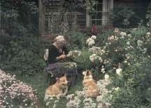 tasha tudor garden tour - Google Search
