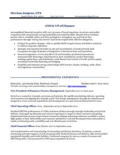 12 cfo resume objective riez sample resumes