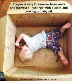 how to get crayon off of furniture
