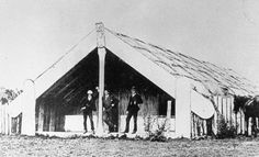 At Maungakawa, north of present-day Cambridge in the Waikato, King Tāwhiao established the Kauhanganui (Kīngitanga parliament) in 1890. This 1890s photograph shows the parliament's meeting house. The Kauhanganui administered a bank with its own...