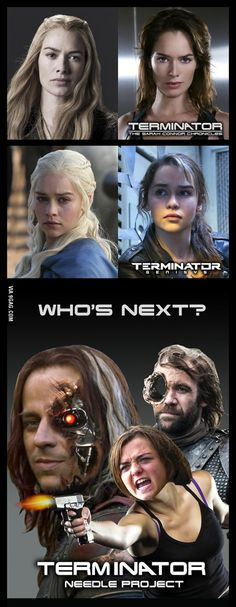 GAME OF TERMINATORS