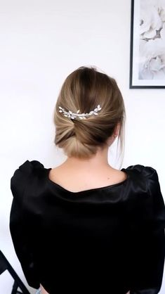 #Mz.Manerz ❥|Mz. Manerz: Be Inspirational- Being well dressed is a beautiful form of confidence, happiness & politeness 🤍Hair accessory @thebobbypinuk 🎵Billie Eilish•ocean eyes Easy Hairstyles For Long Hair, Wedding Hairstyles, Easy Updos For Long Hair, Fishtail Hairstyles, Braided Hairstyles Tutorials, Diy Hairstyles, Medium Hair Styles, Short Hair Styles, Easy Hair Up Styles