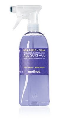 Method Purple All Surface Cleaner was voted best for cleaning in America's Test Kitchen.  Kills 99.8% of bacteria, too!