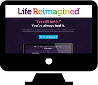 AARP.org/Possabilities Computer with Life Reimagined