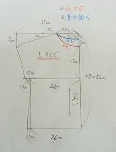 「型紙 無料 チュニック」の画像検索結果