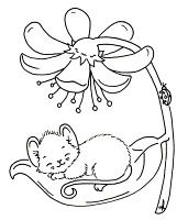 Spring color sheets | Coloring pages: Spring