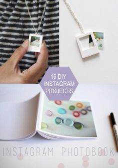 I may not have a smart phone but I still love instagram. I know you guys do too so here are 15 diy projects that you'll want to try using all your mini photos.