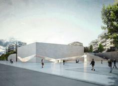 Galería - Aires Mateus gana concurso para diseñar nuevo Pôle Muséal en Lausana - 4