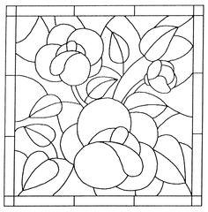 Výsledok vyhľadávania obrázkov pre dopyt šablona na tiffany vitráž