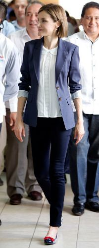 27 May 2015 - Queen Letizia visits the town of Jiquilisco in El Salvador. Click to read more >